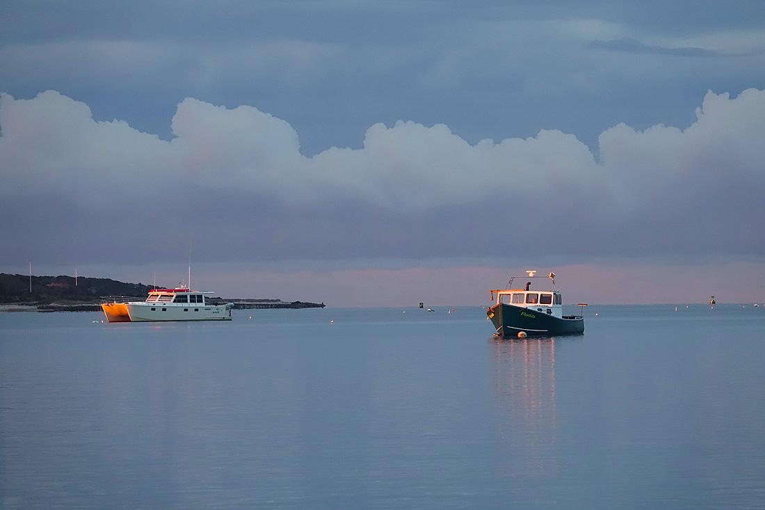 Hyannis Harbor At Dawn!