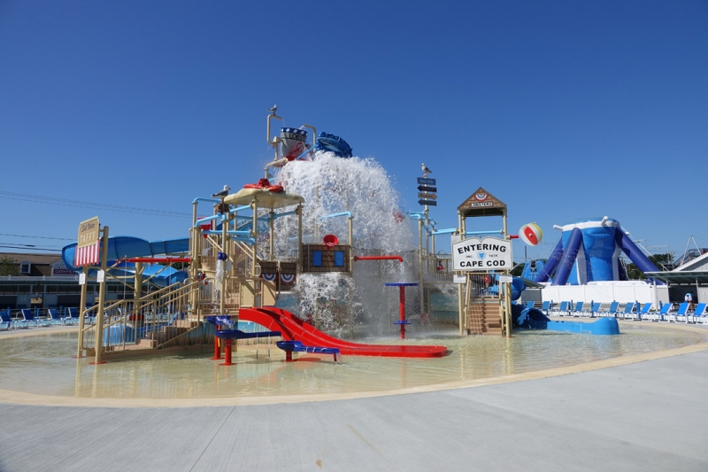 Photos at The Cape Cod Inflatable Park-- H2O Water Park